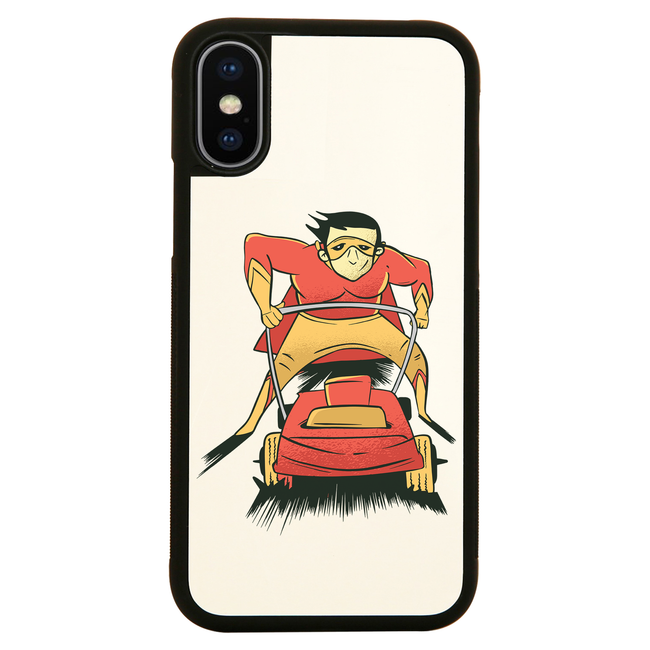 Lawnmover superhero iPhone case cover 11 11Pro Max XS XR X - Graphic Gear