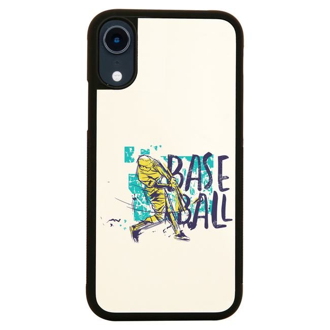 Baseball grunge colored iPhone case cover 11 11Pro Max XS XR X - Graphic Gear