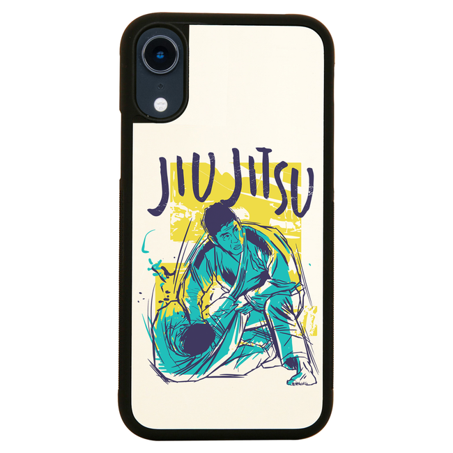 Jiu jitsu grunge color iPhone case cover 11 11Pro Max XS XR X - Graphic Gear