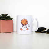 Baseball floss mug coffee tea cup