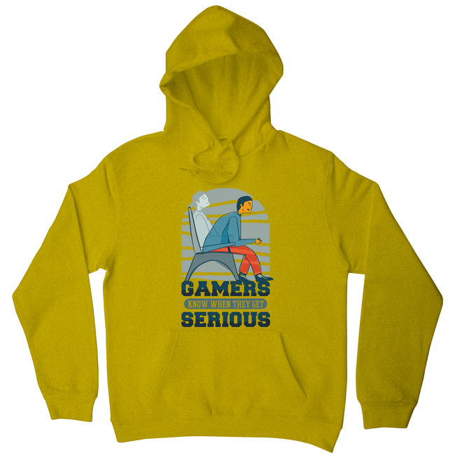 Serious gamers hoodie - Graphic Gear