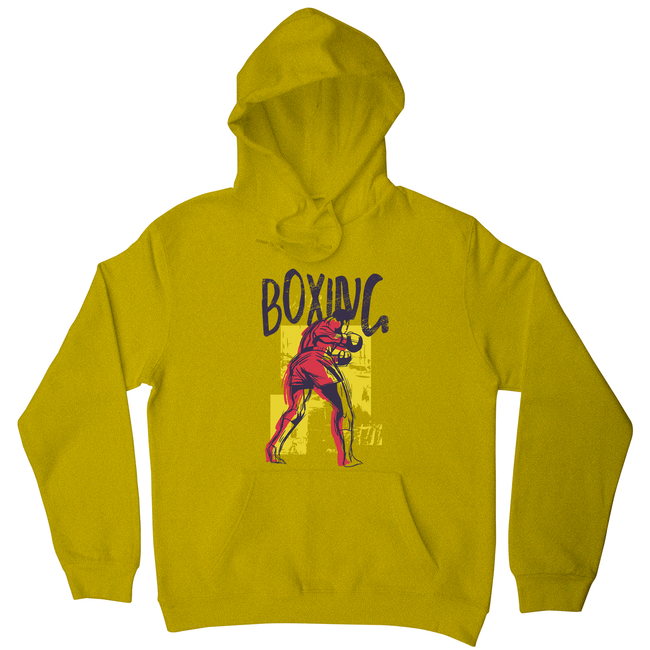 Boxing sports grunge hoodie - Graphic Gear