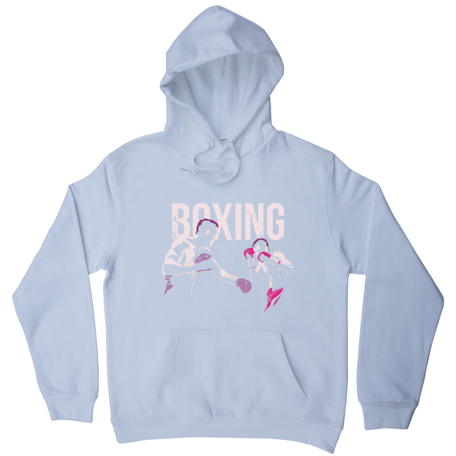 Boxing grunge fighters hoodie