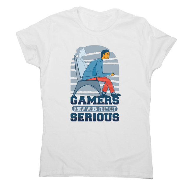 Serious gamers women's t-shirt - Graphic Gear
