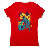 Jiu jitsu grunge color women's t-shirt