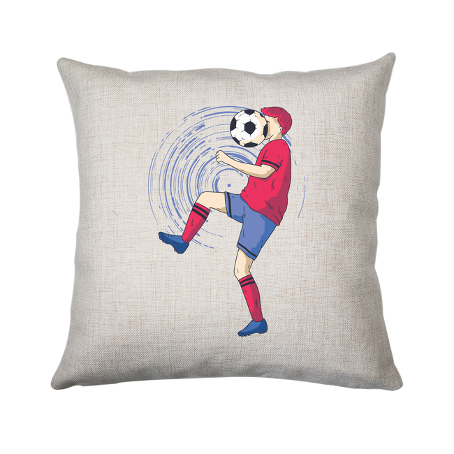 Funny soccer cushion cover pillowcase linen home decor
