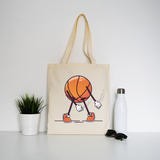 Baseball floss tote bag canvas shopping