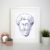 Marcus aurelius print poster wall art decor - Graphic Gear
