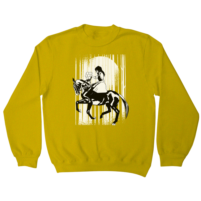 Horse riding woman sweatshirt - Graphic Gear