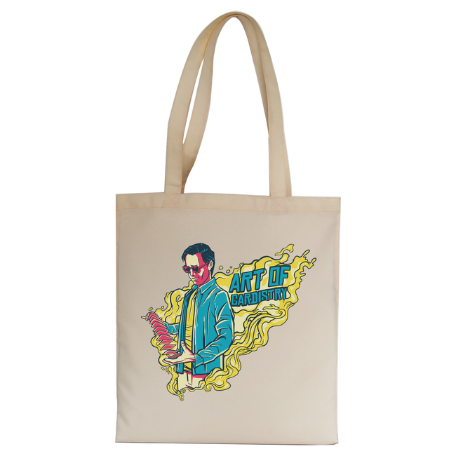 Art of cardistry tote bag canvas shopping - Graphic Gear