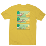 Cockatiel comic strip men's t-shirt - Graphic Gear