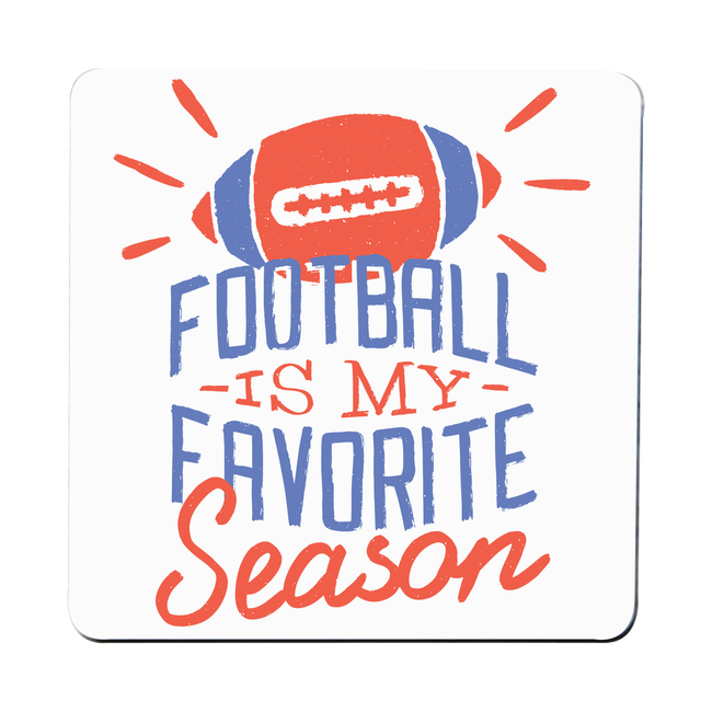 Football season coaster drink mat - Graphic Gear