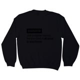 Quarantine funny sweatshirt - Graphic Gear