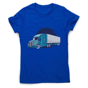 Semi truck illustration women's t-shirt - Graphic Gear