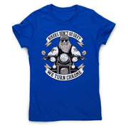 Funny biker text women's t-shirt - Graphic Gear