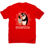 Penguin gin men's t-shirt - Graphic Gear