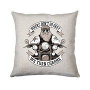 Funny biker text cushion cover pillowcase linen home decor - Graphic Gear