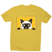 Peeking cat men's t-shirt - Graphic Gear