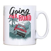 Going off road truck mug coffee tea cup - Graphic Gear
