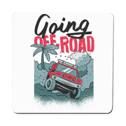 Going off road truck coaster drink mat - Graphic Gear