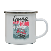 Going off road truck enamel camping mug outdoor cup colors - Graphic Gear