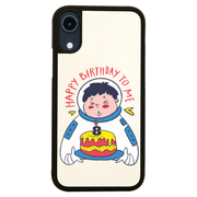 Birthday astronaut iPhone case cover 11 11Pro Max XS XR X - Graphic Gear