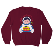 Birthday astronaut sweatshirt - Graphic Gear