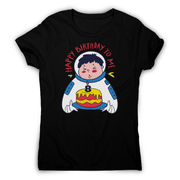 Birthday astronaut women's t-shirt - Graphic Gear