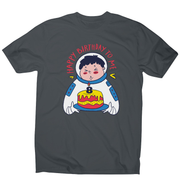 Birthday astronaut men's t-shirt - Graphic Gear