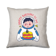 Birthday astronaut cushion cover pillowcase linen home decor - Graphic Gear