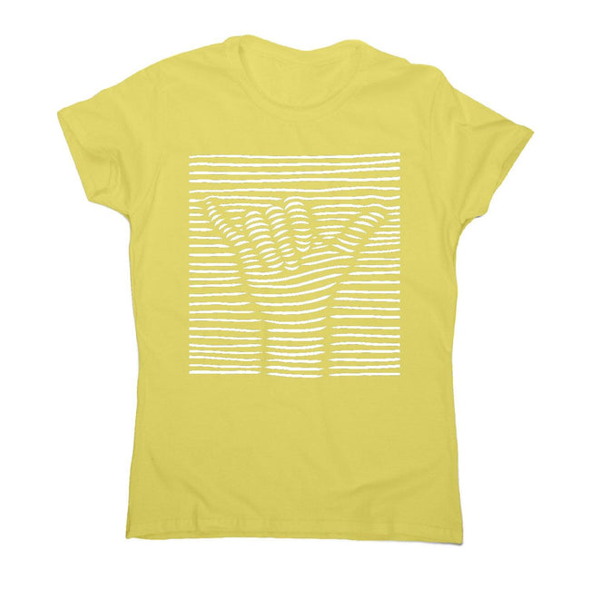 3d shaka - women's funny illustrations t-shirt - Graphic Gear