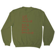 Physics formula sweatshirt - Graphic Gear