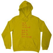 Physics formula hoodie - Graphic Gear