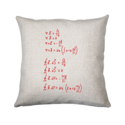 Physics formula cushion cover pillowcase linen home decor - Graphic Gear