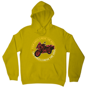 Two wheels quote hoodie
