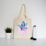 Working mom tote bag canvas shopping - Graphic Gear