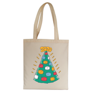 Christmasks tote bag canvas shopping