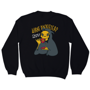Want anxietea sweatshirt - Graphic Gear
