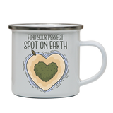Perfect spot enamel camping mug outdoor cup colors - Graphic Gear