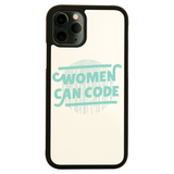 Women code iPhone case cover 11 11Pro Max XS XR X - Graphic Gear
