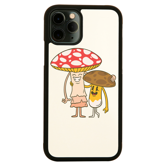 Mushroom friends iPhone case cover 11 11Pro Max XS XR X - Graphic Gear