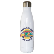Travel and surf water bottle stainless steel reusable - Graphic Gear