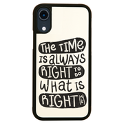 Do whats right iPhone case cover 11 11Pro Max XS XR X