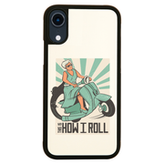 Vespa woman quote iPhone case cover 11 11Pro Max XS XR X - Graphic Gear