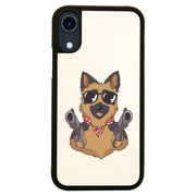 German shepherd guns iPhone case cover 11 11Pro Max XS XR X - Graphic Gear
