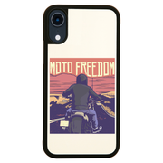 Motorbike freedom iPhone case cover 11 11Pro Max XS XR X - Graphic Gear