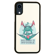 Nothing is impossible iPhone case cover 11 11Pro Max XS XR X
