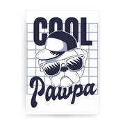 Cool pawpa print poster wall art decor - Graphic Gear