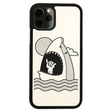 Shaka shark iPhone case cover 11 11Pro Max XS XR X - Graphic Gear