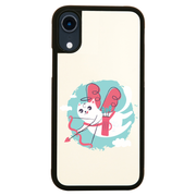 Cupid cat iPhone case cover 11 11Pro Max XS XR X - Graphic Gear